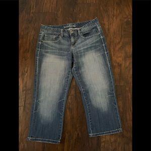 Maurices Denim Crop Style Jeans